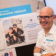 The Chevron Ambassador Network (CAN) was launched to share information with our stakeholders on industry issues, company news and our partnerships.