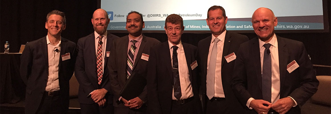 Chevron Australia Managing Director Nigel Hearne speaks at WA Petroleum Day conference